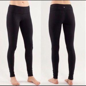 Wunder Under high-waist black full length leggings